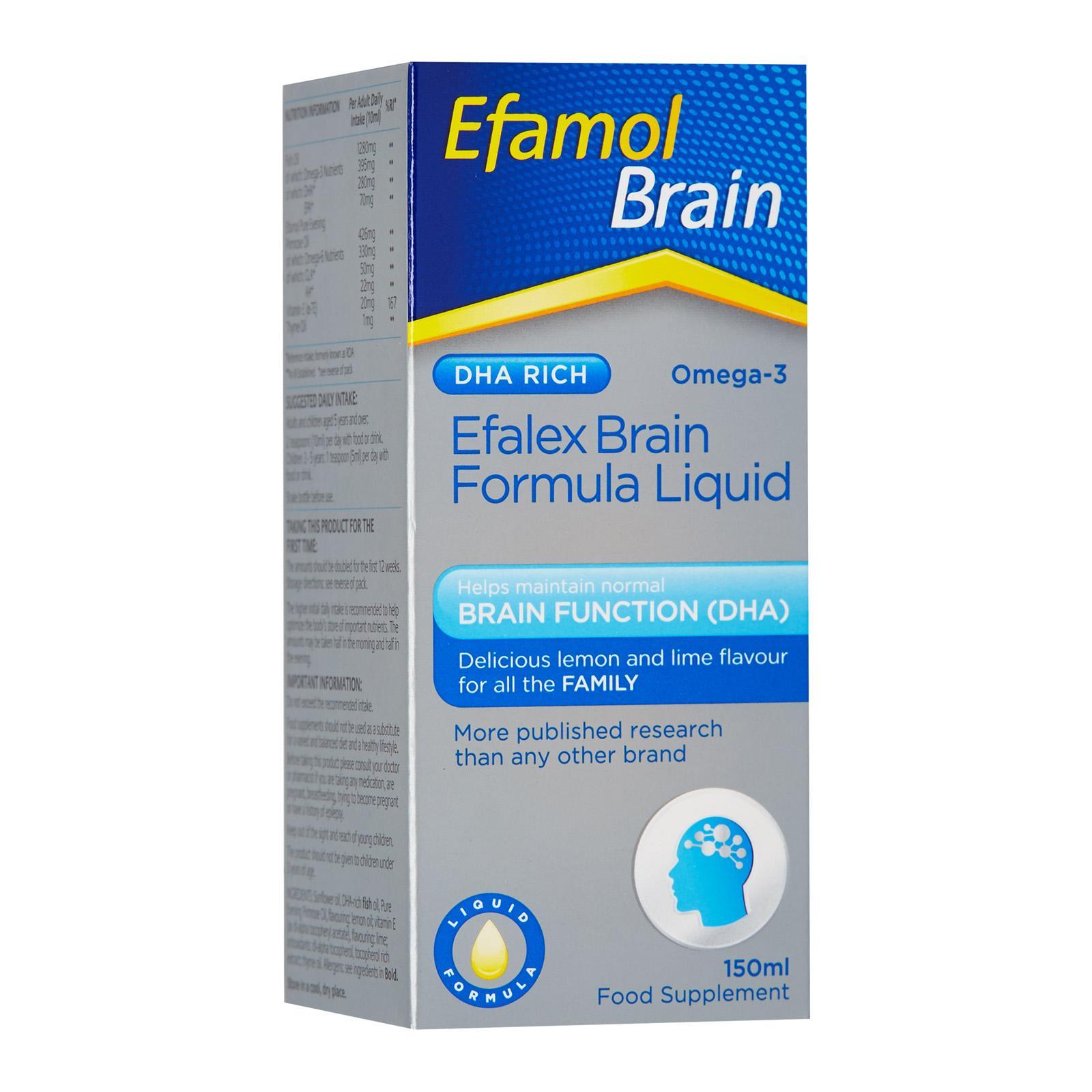 Efamol Brain Efalex Brain Formula Liquid
